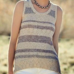 Anthropologie Knit Tank by Sparrow